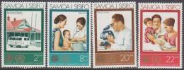 SAMOA, 1973 WHO 4 MNH - Samoa