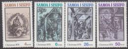SAMOA, 1978 XMAS 4 MNH - Samoa