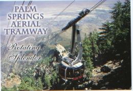 Californie, Palm Springs Aerial Tramway, Rotating Splendor, N´a Pas Circulé, Excellent état - Palm Springs