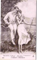 Salon De Paris - G. GRELLET - Que Dira La Marguerite ? - Peintures & Tableaux