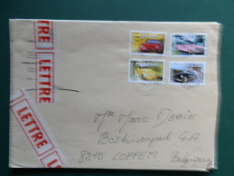 A3330   LETTRE   FRANCE - Cars