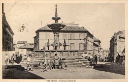 [DC6719] VITERBO - FONTANA GRANDE - Viaggiata - Old Postcard - Viterbo