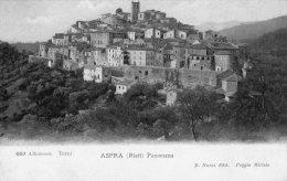[DC6724] ASPRA (RIETI) - PANORAMA - Old Postcard - Rieti