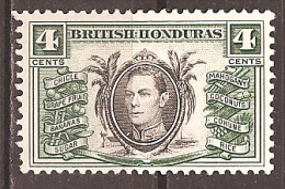 BRITISH HONDURAS..1938..Michel # 115...MLH. - British Honduras (...-1970)