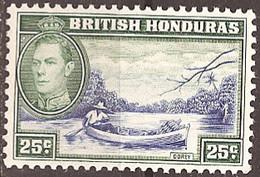 BRITISH HONDURAS..1938..Michel # 119...MLH. - British Honduras (...-1970)