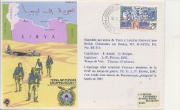 FLIGHT COVER - RAF ESCAPING COMMITTEE - TUNISIA 1979 - Transports