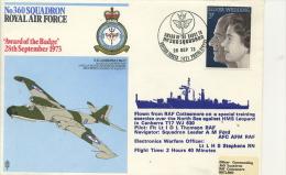 FLIGHT COVER - No 360 RAF SQUADRON 1973 - Transport