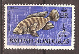 BRITISH HONDURAS..1969..Michel # 231..MLH. - British Honduras (...-1970)