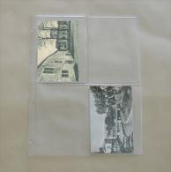 100  Feuilles Transparentes Pour 4 Cartes Postales Anciennes - Matériel