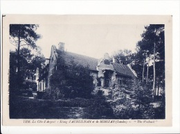 Carte 1925 ETANG D'AUREILHAN ET DE MIMIZAN / THE WOOLSACK (manoir ,villa ?) - France