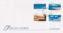 Tokelau 2001 Scenes FDC - Tokelau