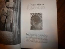 1946 PLAISIR DE FRANCE  ;Philosophie De L´ESCALIER; Un Château Dans L´Orne;  Etc;photos Jahan, Ronis Etc - Zeitungen