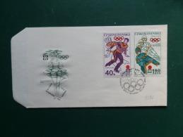 A3396   FDC CESKOSL. - Olympic Games