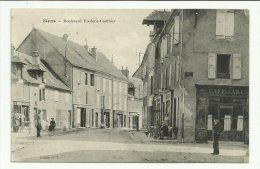 Cpa  MENS ,  Boulevard Frédéric Gauthier , Animé - Mens