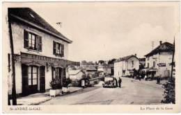 Saint André Le Gaz - La Place De La Gare - Saint-André-le-Gaz