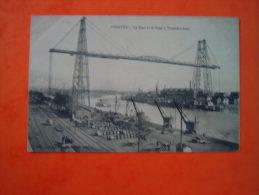 CPA  NANTES   - 44  -  Le Port Et Le Pont à Transbordeur - Loire Atlantique - - Nantes