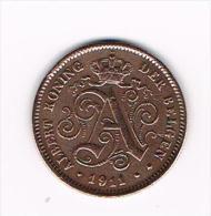 00 ALBERT I   2 CENTIEM   1911  VL - 02. 2 Centimes