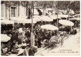 Nice - Le Marché - Marchés, Fêtes