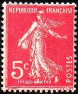 France - N°  278 B * SEMEUSE DE ROTY - Le 5 Cts Rose - France