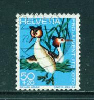 SWITZERLAND - 1970  Pro Juventute  50+20c  Used As Scan - Pro Juventute