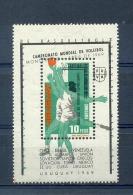 URUGUAY BLOCK 1v 1969 WC VOLLEYBALL VOLLEYBAL VOLEIBOL MNH - Uruguay