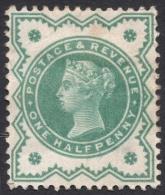 Great Britain, 1/2 P. 1900, Sc # 125, Mi # 100, MH - Ungebraucht