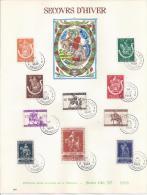 Belgie YT° 603-612 - Erinnerungskarten