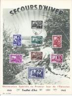Belgie YT° 631-638 - Erinnerungskarten