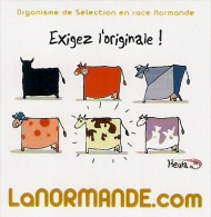 Magnet LA NORMANDE   HEULA - Humour
