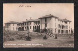 RP JOHANNESBURG WITWATERSRAND UNIVERSITY  HOSTEL  SOUTH AFRICA - Afrique Du Sud