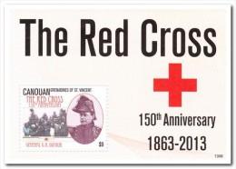 Canouan 2013 Postfris MNH, Red Cross - St.-Vincent En De Grenadines