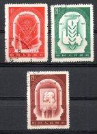 China Chine : (6029) C44-1,3,4(o) 40e Anniv De Grande Révolution De Socialiste D´octobre SG1722,1724,1725 - 1949 - ... République Populaire