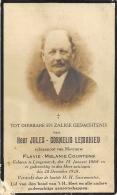 Jules-Cornelis Lemahieu - Langemarck 1868 - 1928 - Avvisi Di Necrologio