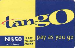 Namibia, recharge coupon Tango