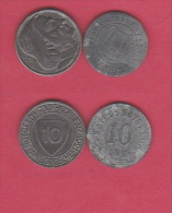ALLEMAGNE //  Lot De 2 Monnaies De Nécessité - Monetary/Of Necessity