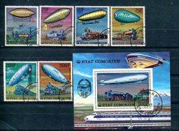"""COMORES : Y&T 1977 """"Histoire Des Communications"""" - Montgolfières"""