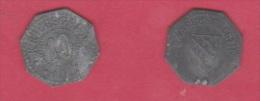 SARREBOURG  //  10 Pfennig 1917  //  état  Tb - Monetari/ Di Necessità