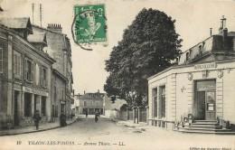 88 RARE THAON LES VOSGES AVENUE THIERS QUINCAILLERIE P. BEGIN - Thaon Les Vosges