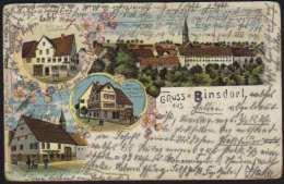 BINSDORF - GEISLINGEN - ^BADEN WÜRTTEMBERG / 1904 FARB AK (ref CP242) - Geislingen