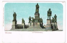 I1362 Worms - Lutherdenkmal / Non Viaggiata - Worms