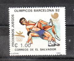 San Salvador   -   1988.  Lotta. Wrestling. MNH - Lotta