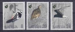 Latvia 1995 European Nature (birds) 3v ** Mnh (12384) - Europäischer Gedanke