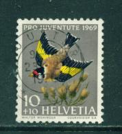 SWITZERLAND - 1969  Pro Juventute  10+10c  Used As Scan - Pro Juventute