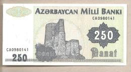 Azerbaigian - banconota non circolata da 250 Manat
