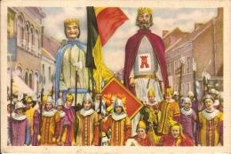 BRAINE LE COMTE-GEANTS-REUZEN-ALIX DE NAMUR ET BAUDOUIN IV LE BATISSEUR - Braine-le-Comte