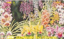 Hawaii, HAW-88 Or 89, 3 Units, Orchids Of Hawaii, Bird, Mint, 2 Scans. - Hawaii