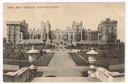 I1377 Windsor Castle - East Terrace - Castello Chateau Schloss Castillo / Non Viaggiata - Windsor Castle