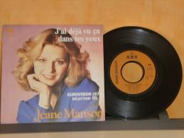 JEANE   MANSON   SP  45 T (2 Titres) - Vinyles