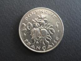 1986 - 20 Francs Polynésie Française - Polynésie Française