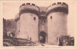 Carte Postale Ancienne Du Gard - Villeneuve Les Avignon - Fort Saint André - Les Tours Jumelles - Villeneuve-lès-Avignon